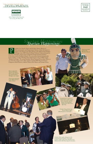 Fall 2005 - Giving to MSU - Michigan State University
