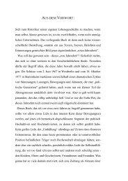 AUS DEM VORWORT: - Gerd Koenen