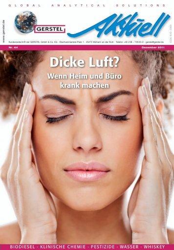 GERSTEL Aktuell Nr. 44 (pdf; 5,32 MB) - Gerstel GmbH & Co.KG