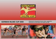 Der Sport macht mobil bei Sport und Spiel - German Inline Cup