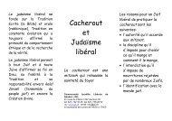 05 Cacherout.pdf - Communauté Israélite Libérale de Genève