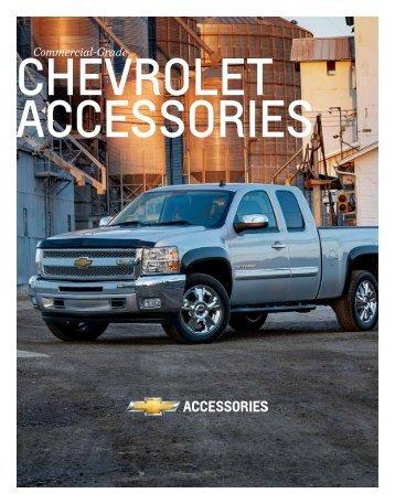 Chevrolet Commercial Accessories Brochure (PDF) - GM Fleet