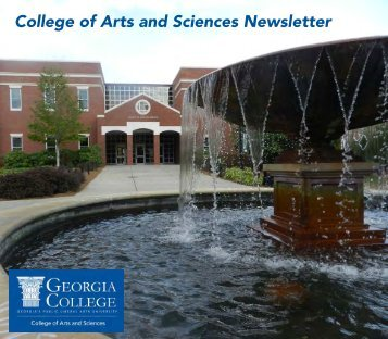 College of Arts and Sciences Newsletter - Georgia College & State ...