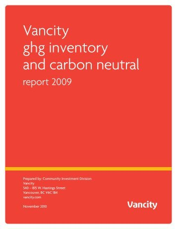 Carbon Footprint/GHG Report Template - CSA's GHG Registries