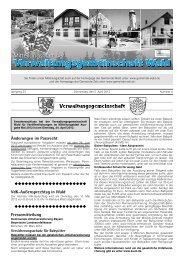 Änderungen im Passrecht VdK-Außensprechtag ... - Gemeinde WALD