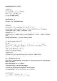 Technische Daten IXUS 300 HS BILDSENSOR Typ 1/2,3-Typ Back ...
