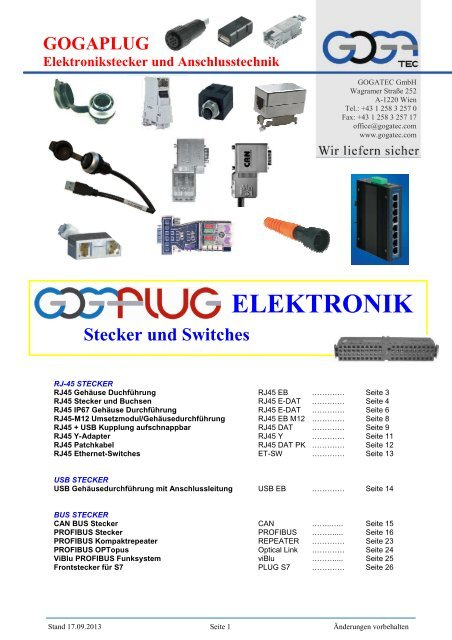 Ventilstecker Gerätestecker Plug 12V oder 24 V mit Schraube und Dichtung