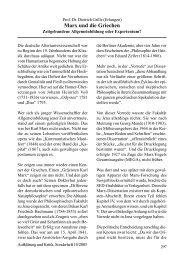 Prof. Dr. Dietrich Grille: Marx und die Griechen