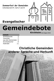 Juli/August 2012 - Gemeindebote