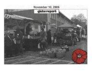 Glebe Report - Volume 36 Number 10 - November 10 2006