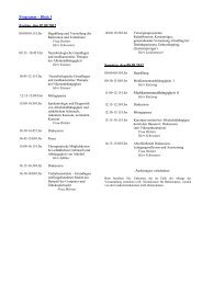 Programm – Block I Freitag, den 07.09.2012 Samstag, den 08.09 ...