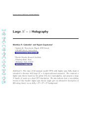 Large N= 4 Holography