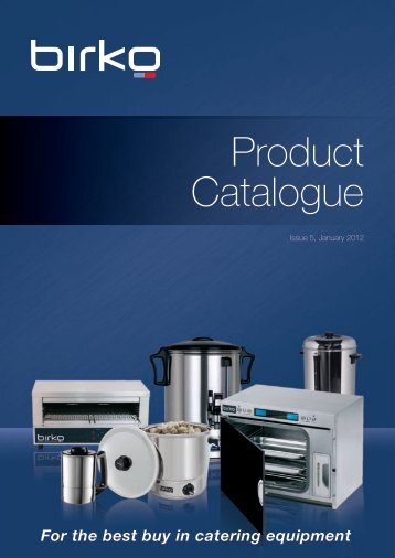 Product Catalogue - GoHospitality