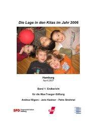 Die Lage in den Kitas im Jahr 2006 Hamburg