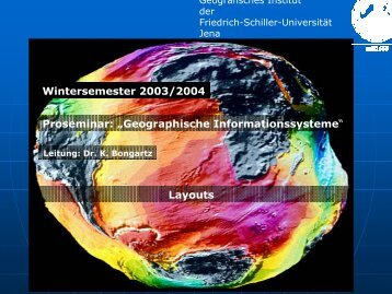 Layouts - Friedrich-Schiller-Universität Jena