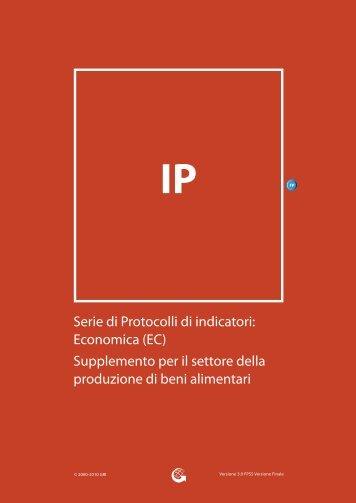 Serie di Protocolli di indicatori: Economica (EC) - Global Reporting ...
