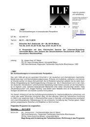 Programm (151 KB) - Historisches Seminar - Johannes Gutenberg ...