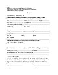 Anmeldeformular - Gesellschaft der Internisten Mecklenburg ...