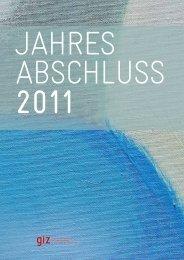 Jahresabschluss 2011 (pdf, 1.49 MB, DE) - GIZ