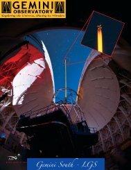 Print Quality PDF - Gemini Observatory