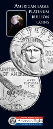 American Eagle Platinum Bullion Coins - The United States Mint