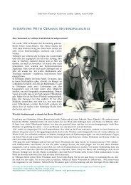 Interview Friedrich Kussmaul