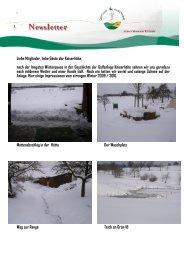 Newsletter 1/10 - Golfclub Kaiserhöhe
