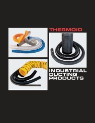 THERMOID INDUSTRIAL DUCTING PRODUCTS
