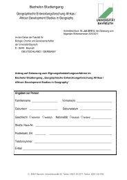 Bachelor-Studiengang Geographische Entwicklungsforschung ...