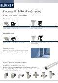 BLÜCHER® Balkon-Entwässerung - Seite 2