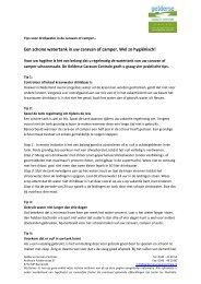 Download PDF voor drinkwater - Gelderse Caravan Centrale