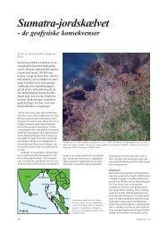 Geologisk Nyt 1, 2005, Sumatra-jordskælvet - GEUS
