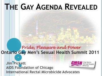 The Gay Agenda Revealed - GMSH