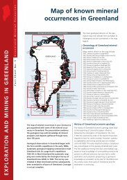 Exploration and Mining in Greenland, Fact sheet no. 5, 2003 - Geus