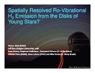 Spatially Resolved IR Molecular Hydrogen Emission from the Disks ...