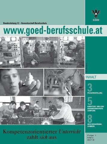 8neue mechatroniK - Bundessektion 12 Berufsschullehrer