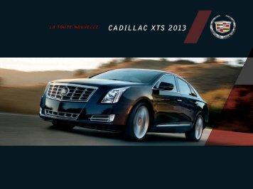 CADILLAC XTS 2013 - GM Canada