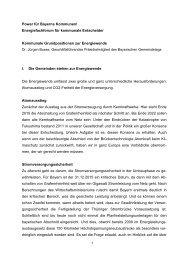 Kommunale Grundpositionen zur Energiewende - Bayerische ...