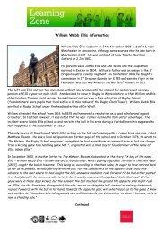 William Webb Ellis information - Gloucester Rugby Heritage