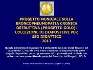 Progetto strategico mondiale per la diagnosi, trattamento e ... - GOLD
