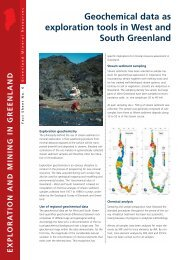 Exploration and Mining in Greenland, Fact sheet no. 4, 2003 - Geus