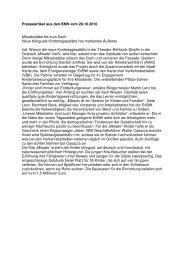 Einweihung Kita Mikado - Mikadostäbe bis unters ... - AWO Karlsruhe