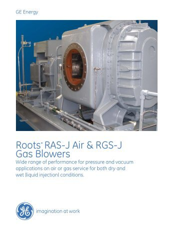 Roots Blowers RAS-J RGS-J Imperial brochure / PDF ... - GE Energy