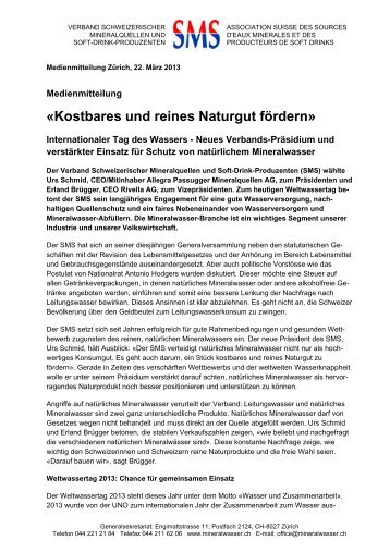 Download PDF-Dokument - Verband Schweizerischer ...