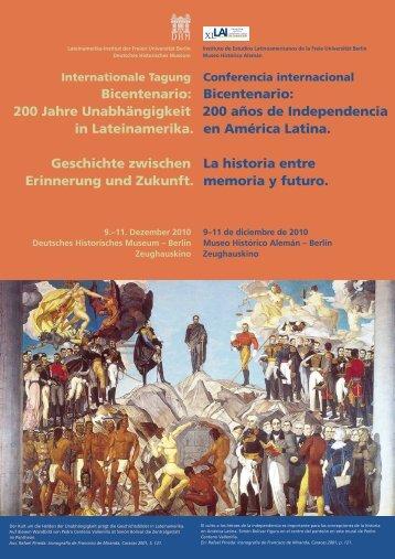 Bicentenario - Freie Universität Berlin