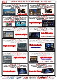 Listino GMA Multimedia Pubblico Mag 2010 - GMA Italia Srl