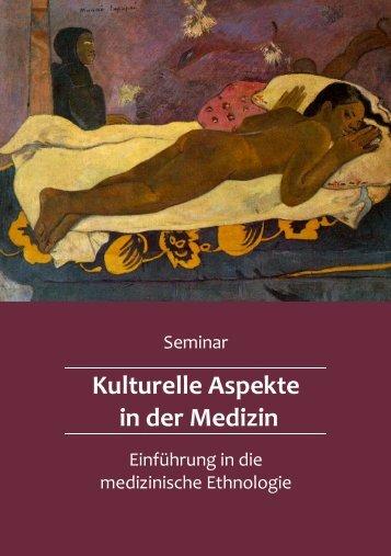 Kulturelle Aspekte in der Medizin - gemeinsamelistemedizin