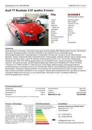 Skrive ut anbud - Autohaus Gerstenmaier