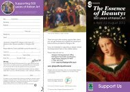 Appeal Leaflet, The Essence of Beauty: 500 years if ... - Glasgow Life