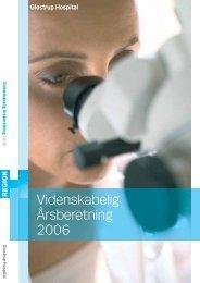 Videnskabelig Årsberetning 2006 - Glostrup Hospital